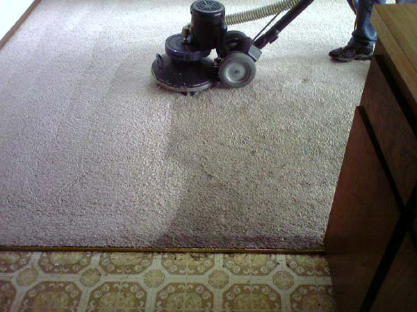 RX-20 On-site Cleaning Dirty Apartment Carpet